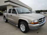 2004 Light Almond Pearl Metallic Dodge Dakota SLT Quad Cab #25891239