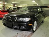 2006 Jet Black BMW 3 Series 330i Convertible #25891245