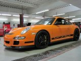 2007 Orange/Black Porsche 911 GT3 RS #25891247