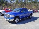 2007 Electric Blue Pearl Dodge Ram 1500 Thunder Road Quad Cab 4x4 #25891249