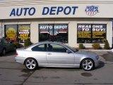 2004 Titanium Silver Metallic BMW 3 Series 325i Coupe #25920188