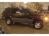 1996 Dark Rosewoood Pearlcoat Jeep Grand Cherokee Laredo 4x4 #25920519