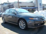 2008 Carbon Gray Pearl Acura TSX Sedan #25920213