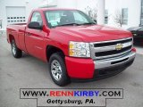 2010 Victory Red Chevrolet Silverado 1500 LS Regular Cab #25920411