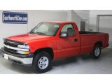 1999 Victory Red Chevrolet Silverado 1500 Regular Cab 4x4 #25920472