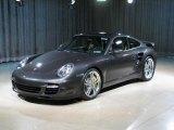 2007 Slate Grey Metallic Porsche 911 Turbo Coupe #25964456