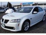 2009 White Hot Pontiac G8 Sedan #25964470