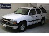 2004 Summit White Chevrolet Tahoe LS 4x4 #25964798