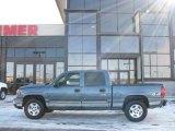 2007 Blue Granite Metallic Chevrolet Silverado 1500 Classic LT Crew Cab 4x4 #25964811