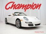 2008 Carrara White Porsche 911 Carrera 4S Cabriolet #25964532