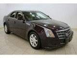 2009 Black Cherry Cadillac CTS Sedan #25964848