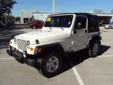 2006 Stone White Jeep Wrangler Sport 4x4 #25964876