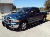 2005 Atlantic Blue Pearl Dodge Ram 1500 SLT Quad Cab #25964877