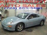 2003 Steel Blue Pearl Mitsubishi Eclipse GS Coupe #25964581