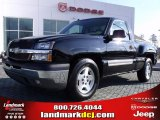 2005 Black Chevrolet Silverado 1500 LS Regular Cab #25964597