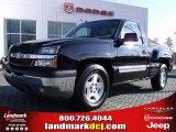 2005 Black Chevrolet Silverado 1500 LS Regular Cab #25964597