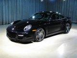 2007 Black Porsche 911 Turbo Coupe #259258