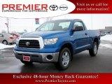 2007 Blue Streak Metallic Toyota Tundra Regular Cab 4x4 #25999721
