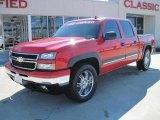 2006 Victory Red Chevrolet Silverado 1500 Z71 Crew Cab 4x4 #26000009