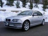 2001 Titanium Silver Metallic BMW 3 Series 325i Sedan #26000154