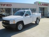 2008 Summit White Chevrolet Silverado 1500 Work Truck Regular Cab #26000021