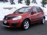 2007 Sunlight Copper Pearl Suzuki SX4 Convenience AWD #26000155