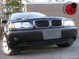 2005 Jet Black BMW 3 Series 325i Sedan #25999743