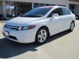 2007 Taffeta White Honda Civic EX Sedan #26000050