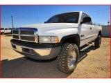 2001 Bright White Dodge Ram 2500 SLT Quad Cab 4x4 #2600968