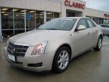 2009 Gold Mist Cadillac CTS Sedan #25999980