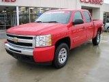 2009 Victory Red Chevrolet Silverado 1500 LT Crew Cab 4x4 #25999997