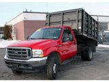 Red Ford F450 Super Duty in 2004