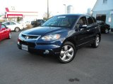 2007 Royal Blue Pearl Acura RDX Technology #25999475