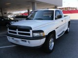 1998 Bright White Dodge Ram 1500 Sport Extended Cab 4x4 #26000207