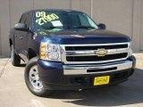 2009 Blue Granite Metallic Chevrolet Silverado 1500 LT Crew Cab 4x4 #26000253
