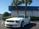 2007 Performance White Ford Mustang Saleen S281 Supercharged Coupe #2596131