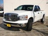 2008 Bright White Dodge Ram 1500 Big Horn Edition Quad Cab #26000263