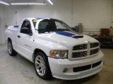2005 Bright White Dodge Ram 1500 SRT-10 Regular Cab #25999689