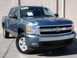 2008 Blue Granite Metallic Chevrolet Silverado 1500 LT Crew Cab 4x4 #26000281