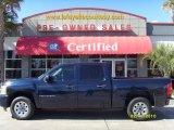 2008 Dark Blue Metallic Chevrolet Silverado 1500 LT Crew Cab #26068096