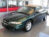 1997 Chrysler Sebring Deep Hunter Green Pearl