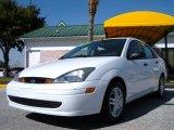 2003 Cloud 9 White Ford Focus SE Sedan #26068439
