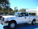 2010 Ingot Silver Metallic Ford F150 XL SuperCab #26068159