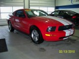 2005 Torch Red Ford Mustang V6 Premium Coupe #26068488