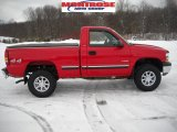 2002 Victory Red Chevrolet Silverado 1500 LS Regular Cab 4x4 #26068497