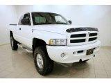 2001 Bright White Dodge Ram 1500 SLT Club Cab 4x4 #26125798
