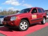 2006 Inferno Red Crystal Pearl Jeep Grand Cherokee Laredo 4x4 #26125501