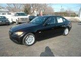 2006 Jet Black BMW 3 Series 325i Sedan #2596216