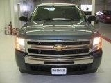 2009 Blue Granite Metallic Chevrolet Silverado 1500 LT Crew Cab 4x4 #26125386