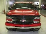 2006 Sport Red Metallic Chevrolet Silverado 1500 LT Crew Cab #26125387
